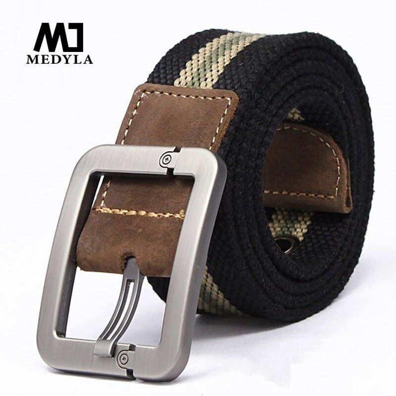 Men Belt 2017 New Fashion Unisex Army Tactical Waist Belt Jeans Male Casual Luxury Canvas Webbing Waistband Ceinture Femme