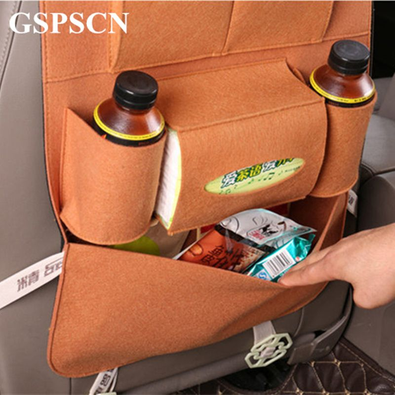 GSPSCN For Child Kick New Thicken Back Seat Protective Mud Clean car Covers For car Seats For Ipad and Drink Anti Kick Mat Mat