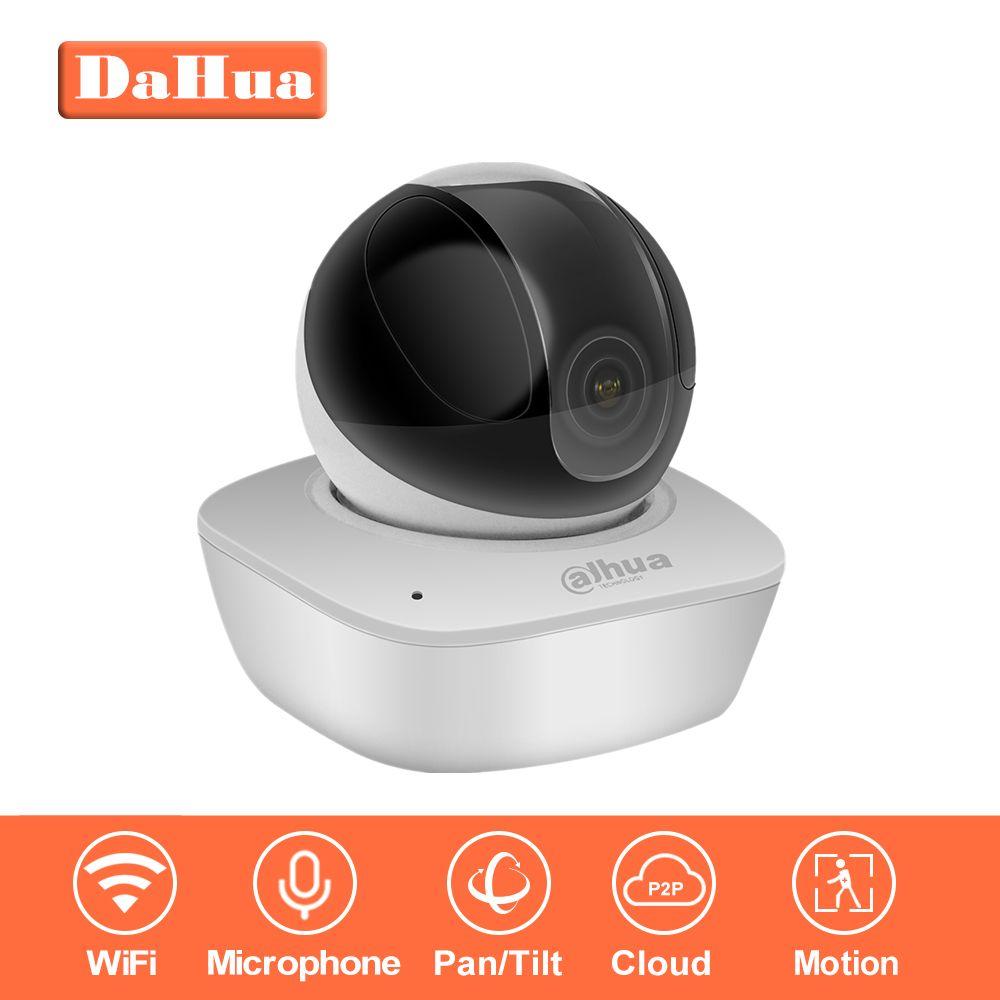 IP Camera Indoor Original DaHua WiFi Camera IPC-A35 3MP Wireless IP Camera 16x Wi-Fi Network PT Camera Built-in Speaker & SD