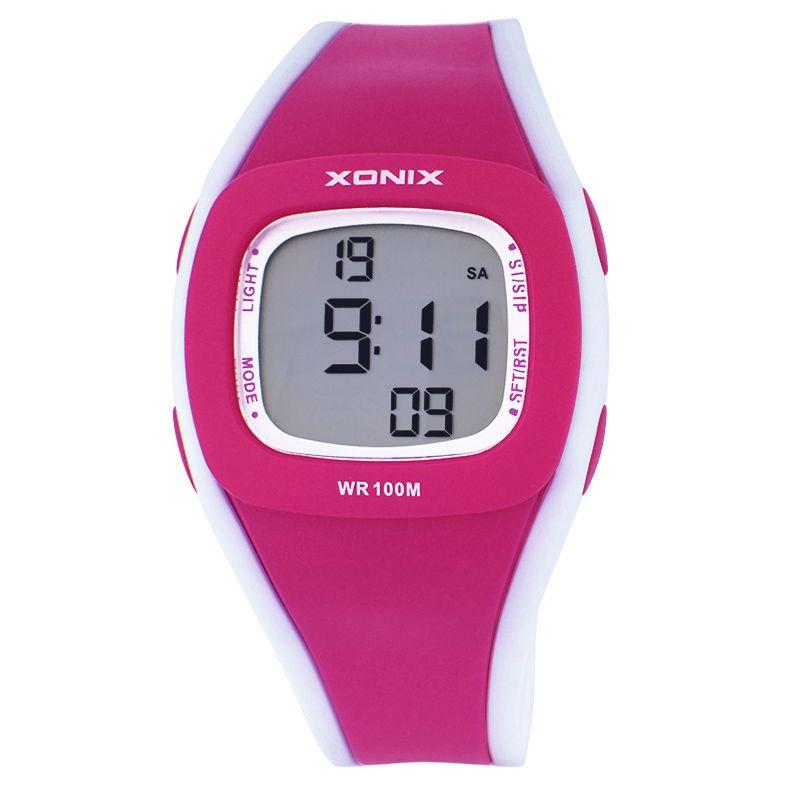 2016 новые детские часы GIF для ваших детей, в простом стиле конфеты цифровые часы, женщин девушки 100 м водонепроницаемые наручные часы