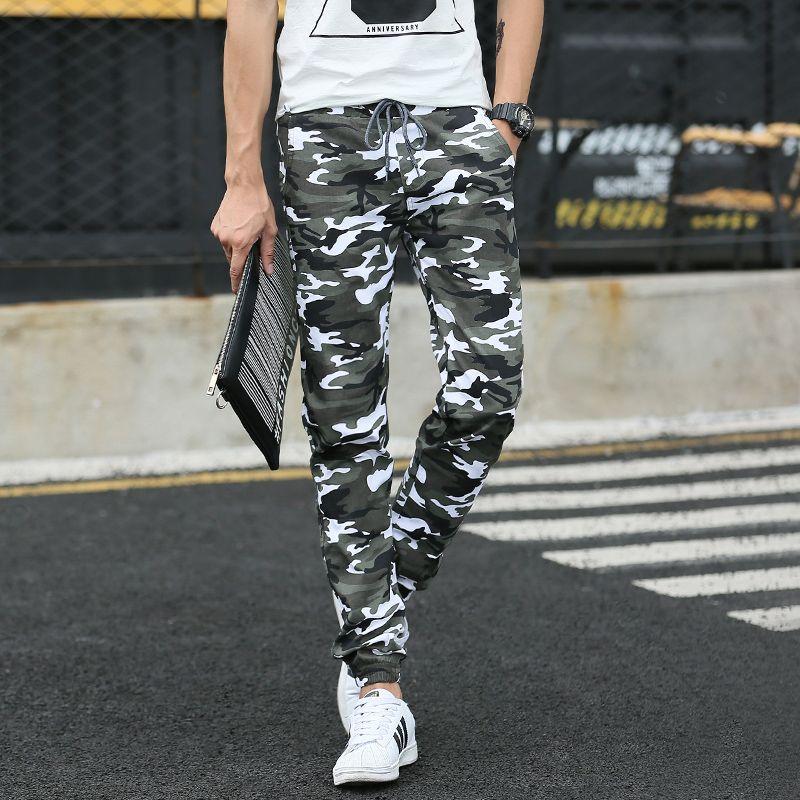 2016 новых мужских случайные штаны камуфляжные штаны модные мужские брюки