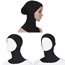 Musulman Élastique Pleine Couverture Intérieure Hijab Tête Cou Bouchon Underscarf Chapeau Islamique