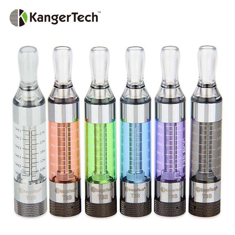 10 stücke Original Kanger T3S eGo BCC Cartomizer Bottom Spule Veränderbar Zerstäuber Elektronische Zigarette Tank von Kangertech