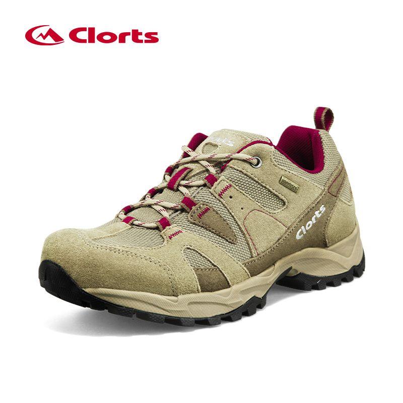 Clorts Hiking Shoes Men Suede Trekking Shoes Waterproof Outdoor Mountain Shoes Anti-Slipping Outdoor Shoes HKL-828A/B/C