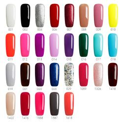 BUKAKI 29 Couleurs Nail Art Ensemble Complet Gel UV Kit Manucure Gel Laque Gel Vernis À Ongles Semi Permanent