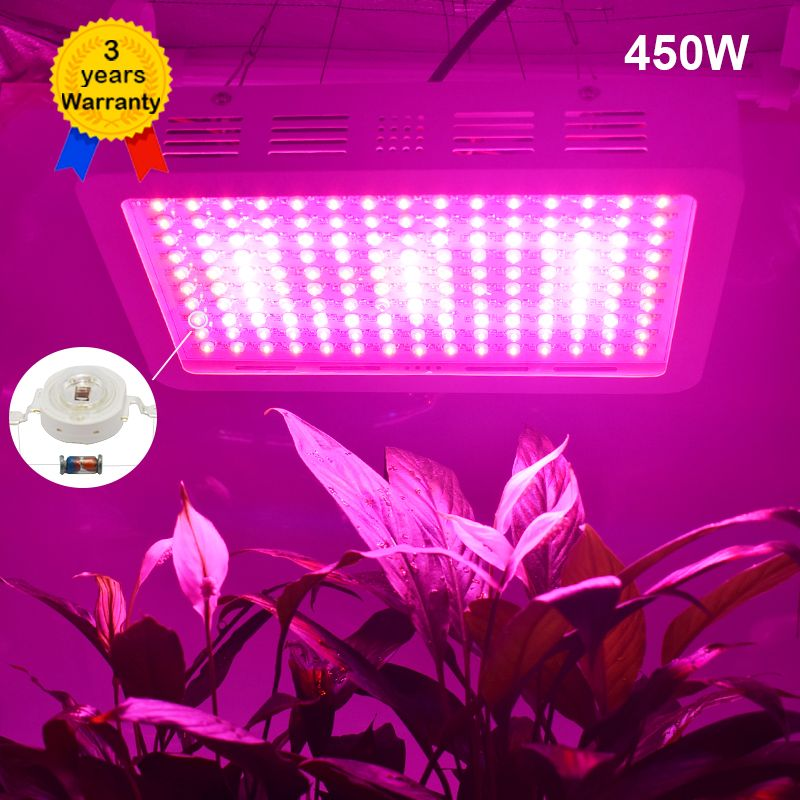 450W LED Grow Light Full Spectrum Plant Growing Lighting LEDs Fitolampy Lamps for Plants Growing Flowers Seedings Greenhouse