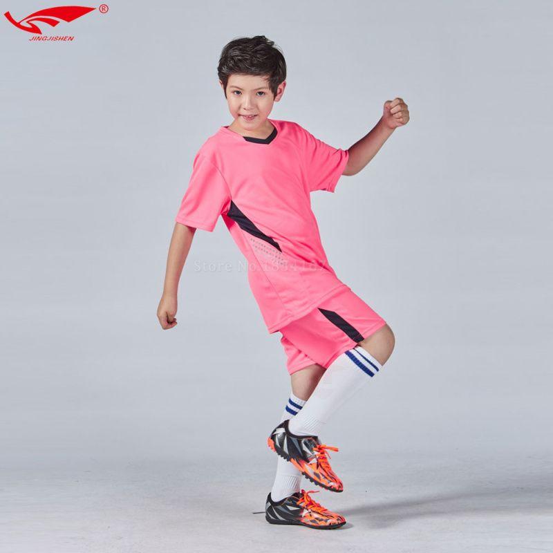 Высокое качество детские футбольные майки 2016 2017 дети Футбол набор мальчиков пользовательские футбол Джерси форма дети молодежи Нью