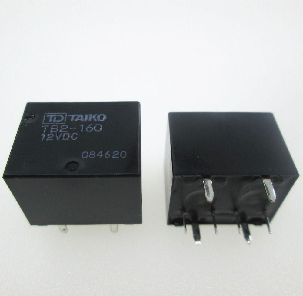 NEW auto car 12V relay TB2-160-12VDC TB2-160 12VDC TB2160-12VDC TB2160 TB2 160 12VDC DC12V 12V 8pin
