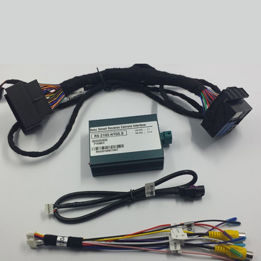 Plug And Play Car Rear Camera Video Interface For Mercedes C Class C180 T Modell W205 Audio 20 With NTG5.0 System