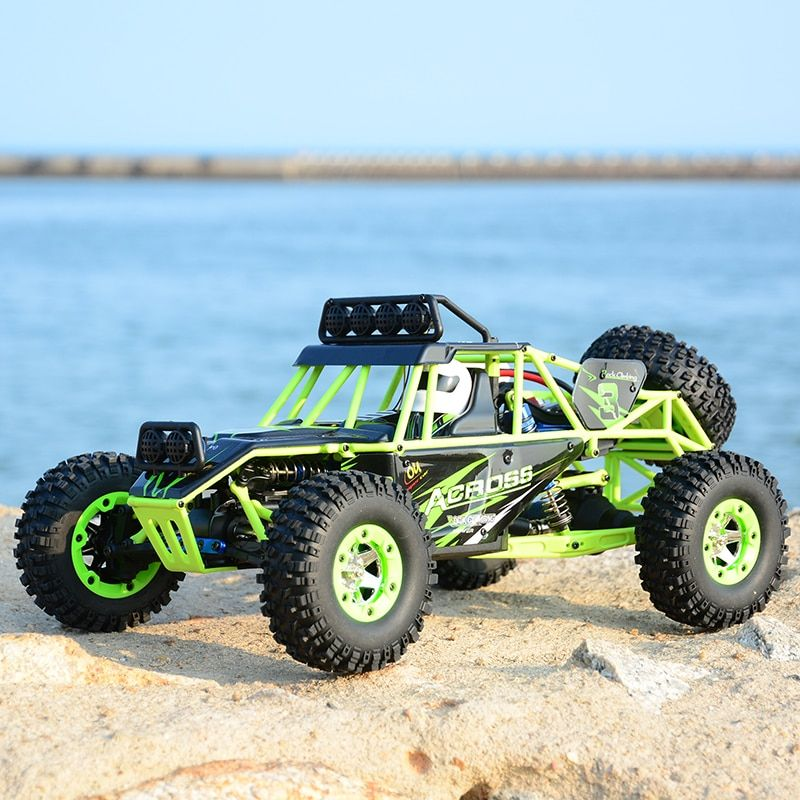 High Quality WLtoys 12428 Remote Control Car 2.4G 1/12 4WD Crawler RC Car With LED Light RTR High Speed Drit Bike vehicle