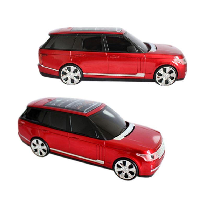 Land Big Battery Long Standby 8800mah Power Bank Car Driving Recorder Dual Torch Rover Sport SUV Car Model Mobile Phone P268