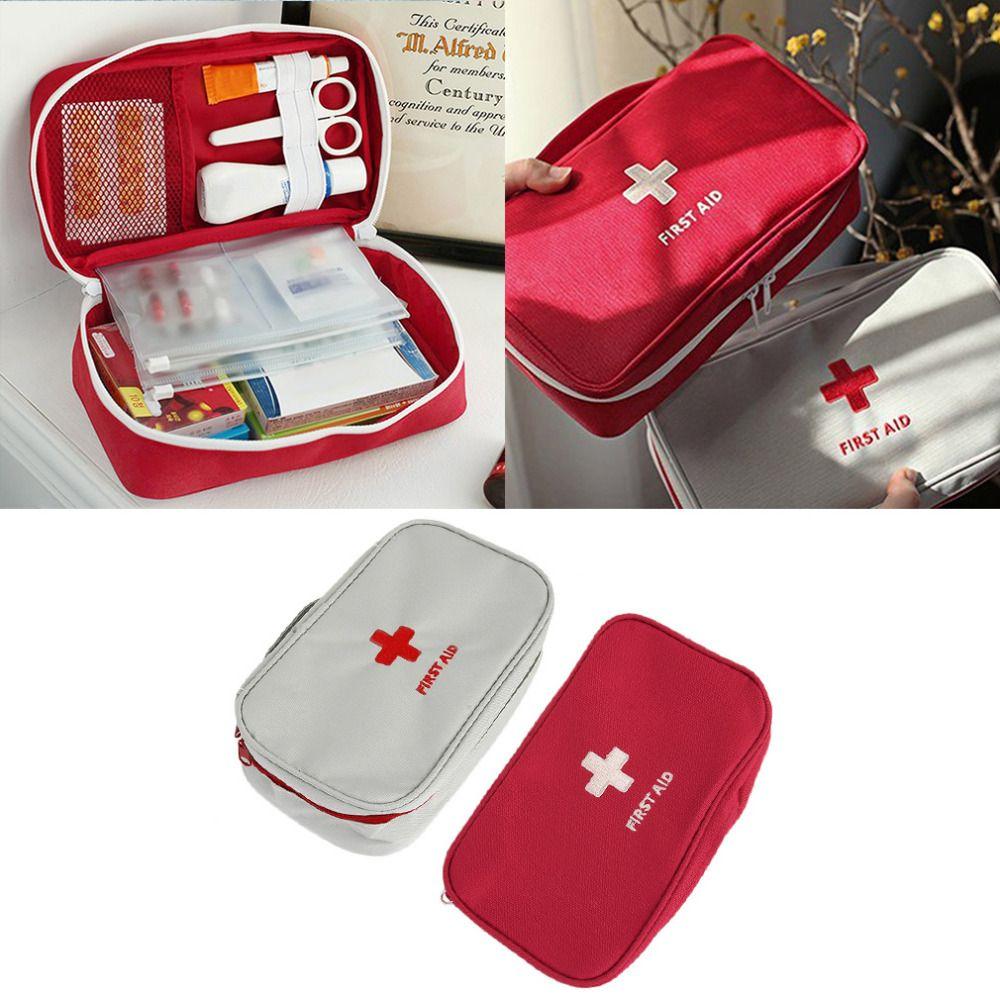 Multifunktions Notfall Tasche Reißverschluss Nylon Tasche Camping Tragbare Handheld Medizinische Erste-hilfe-tasche Medizin-organisatorbehälters