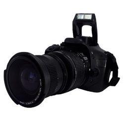 Lightdow 0.35x58mm Super fisheye lente gran angular + Macro para 58mm Canon 70D 60D 7D 6D 700D 650D 600D 550D 500D 1100D 1000D