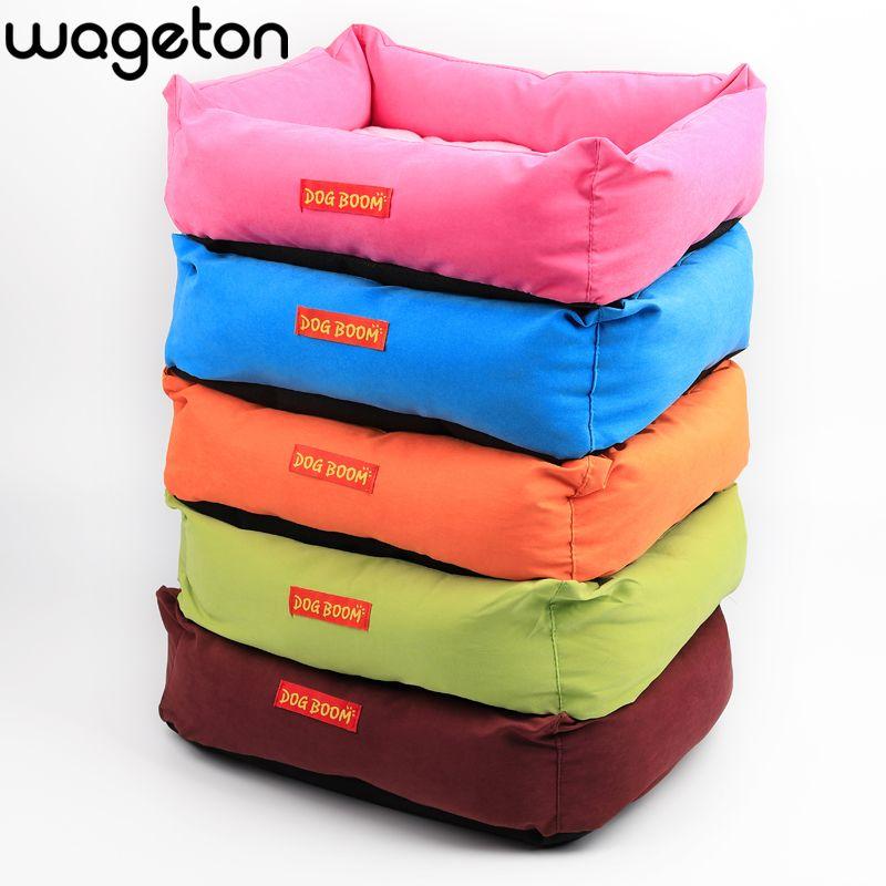 Offres spéciales! Chien BOOM Fruit couleur Pet chat et chien lit Promotion 5 couleurs chenil taille M, L