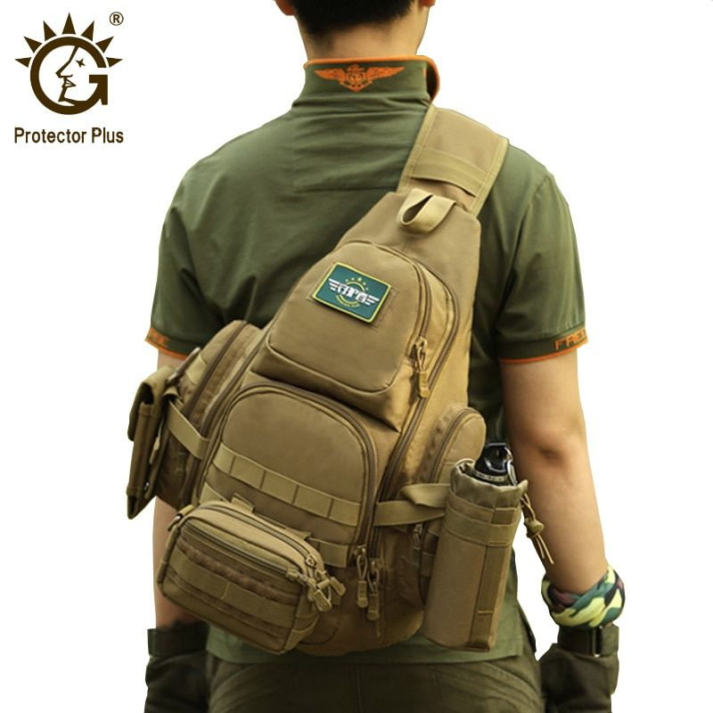 Protector Plus 20-35L Tactical Sling Bag, 14