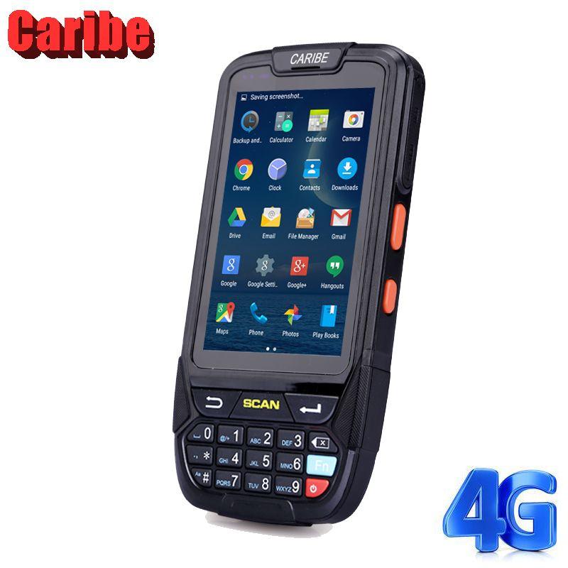 Caribe PL-40L nouvelles industrielle mini wireless1d barcode scanner android robuste pour la gestion d'entrepôt
