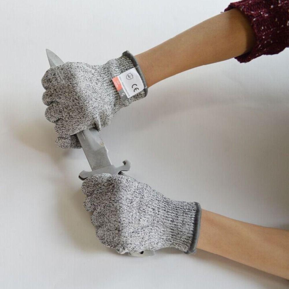 LESHP Handschuhe Proof Schützen HPPE Sicherheit Mesh Butcher Anti-schneiden Atmungsaktiv Arbeit Handschuhe cut level 5 Cut Beständig Handschuhe