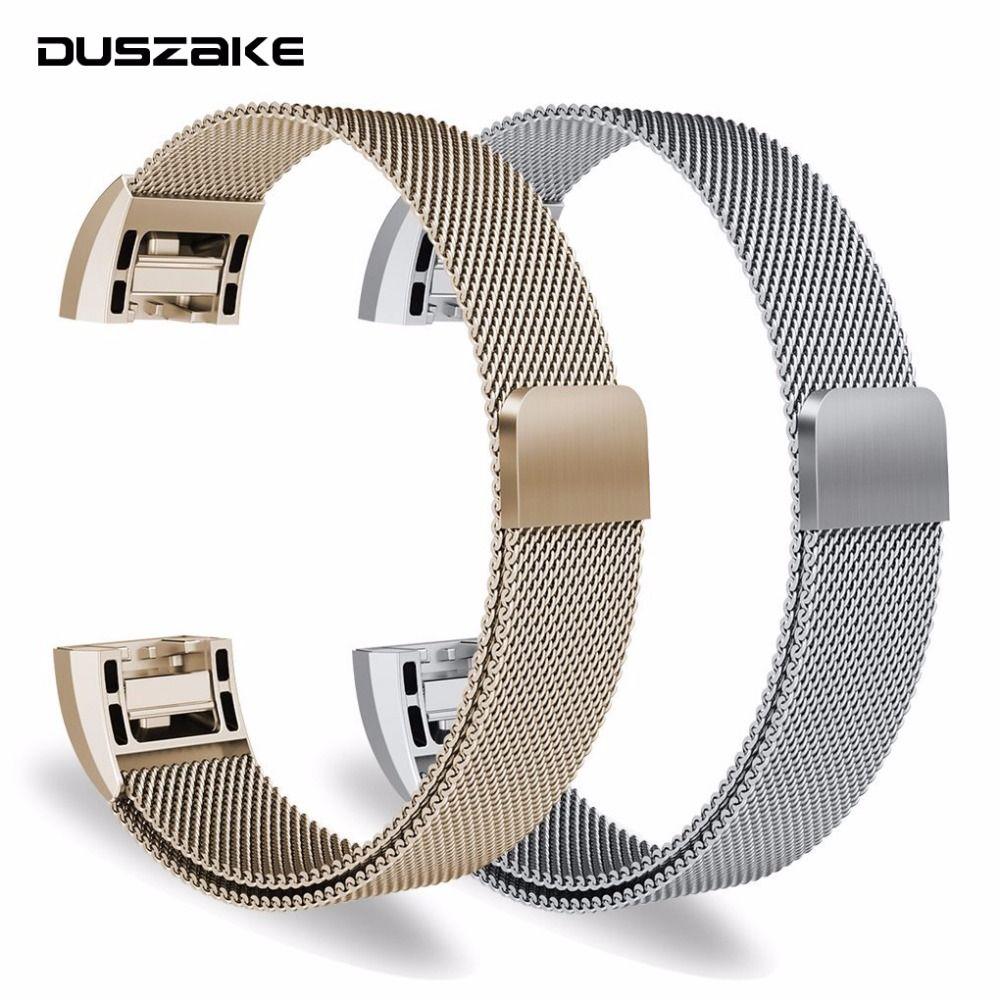 Ersatz Bands Für Fitbit Ladung 2 Band Smart Uhr Armband Armband Für Fitbit Ladung 2 Zubehör Edelstahl Armband