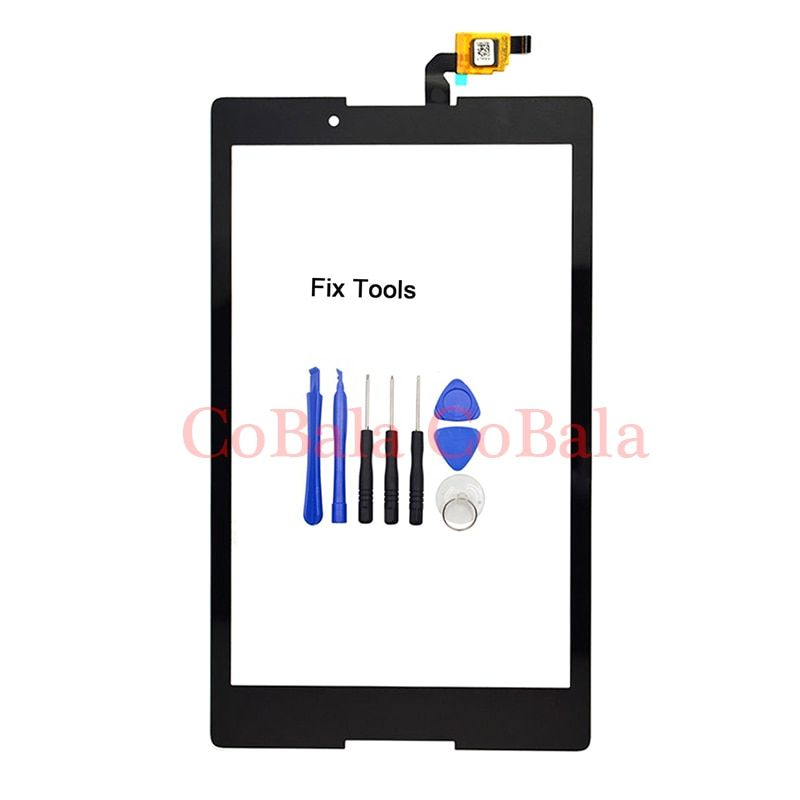 LOVAIN 1Pcs Original For Lenovo Tab 3 8 TB3-850 T850F Tablet 8.0 Touch Screen Digitizer LCD Outer Front Glass Sensor+Tools