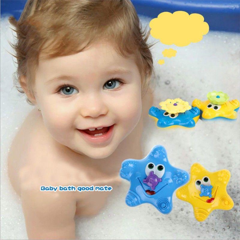Nuevos Niños Encantadores Estrellas de Mar Del Bebé Sassy Juguete del baño de Agua de Baño Juguetes De Natación Lindo Divertido Juguetes de Baño Práctico JokesToys