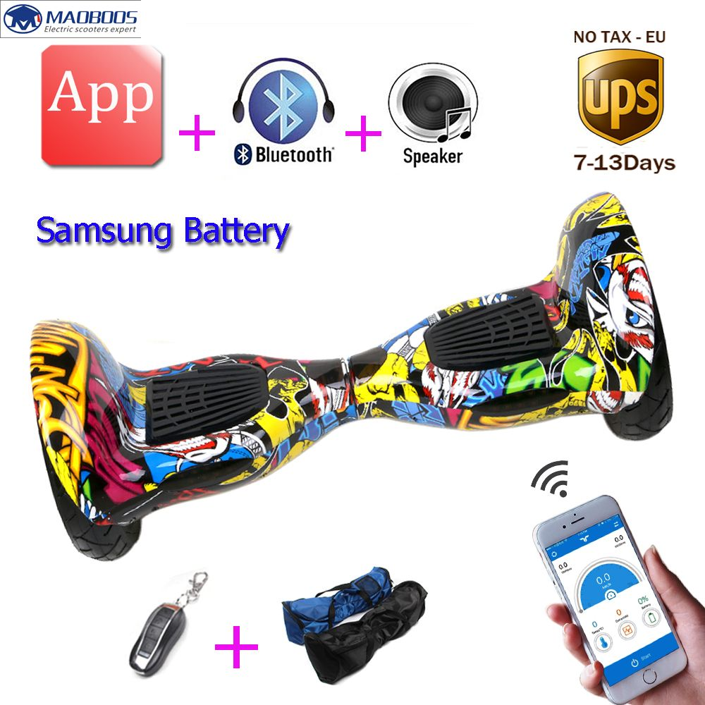 Hoverboard 10 Inch APP Electric Scooter Hoverboard Self Balancing Scooter Smart Balance Wheel Electric Skateboard Hover Board