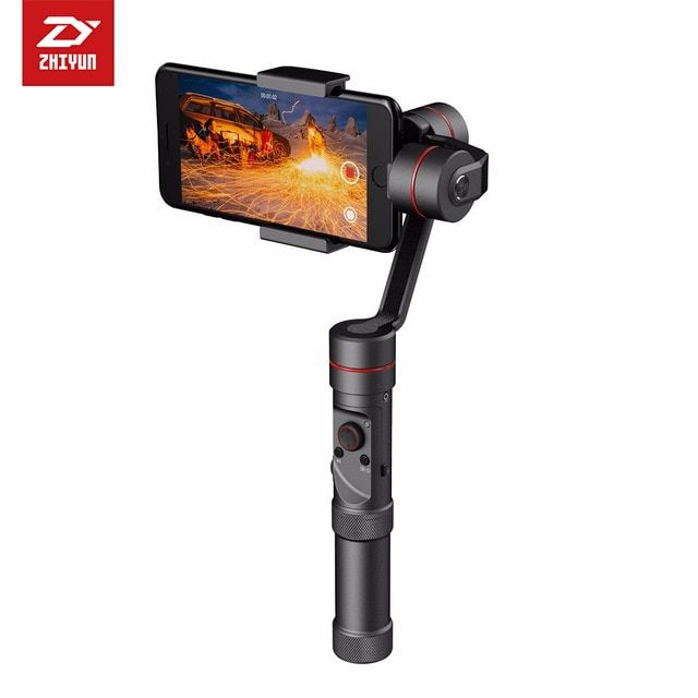 Zhiyun Smooth 3 III 3 Axis Handheld Gimbal Stabilizer Camera Mount for iPhone 7 6 Plus n Samsung S7 S5 S5 Note 4 7 Smartphones