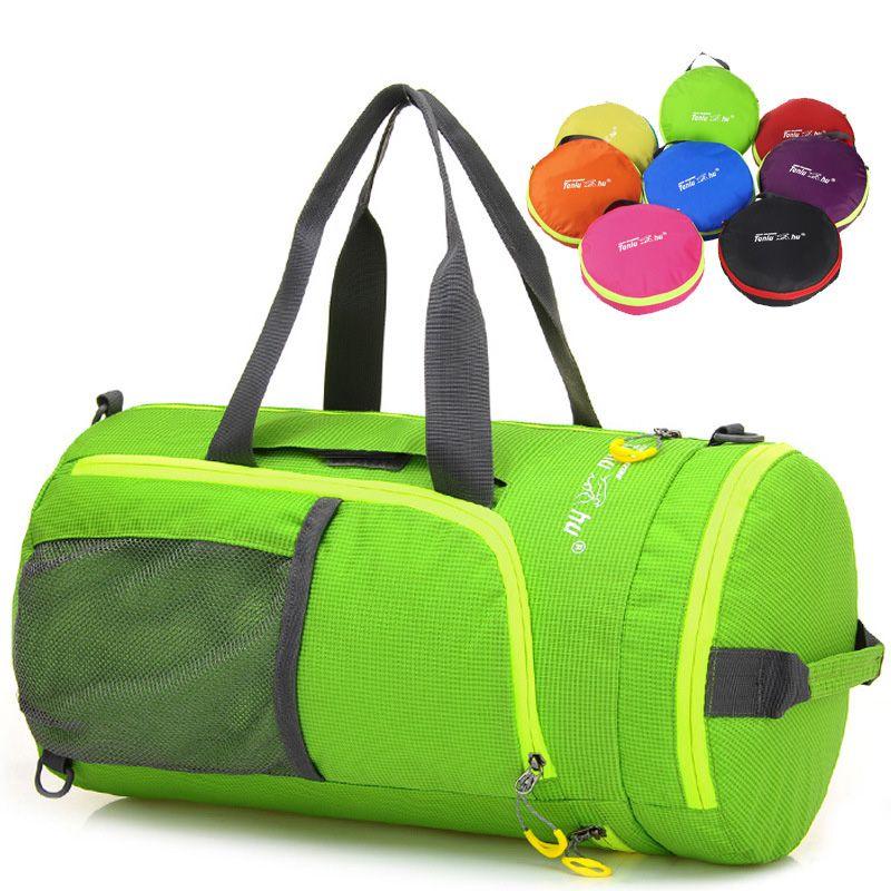 Outdoor-multifunktions-waterproof Nylon Unisex Camping Sport Klapp Rucksack Packsack Umhängetaschen Wandern Taschen