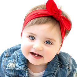 2017 Nouveau Bébé Fille Solide Noeud Bandeau Enfants Coton Turban Tricoté Cheveux Accessoires Enfants Croix Chapeaux pour Enfants KT016