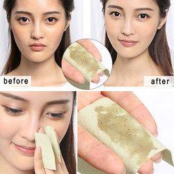 100 листов/упаковка тканевая бумага s впитывает впитывающий для лица очищающее средство для лица инструмент зеленый чай запах Макияж очищающ...
