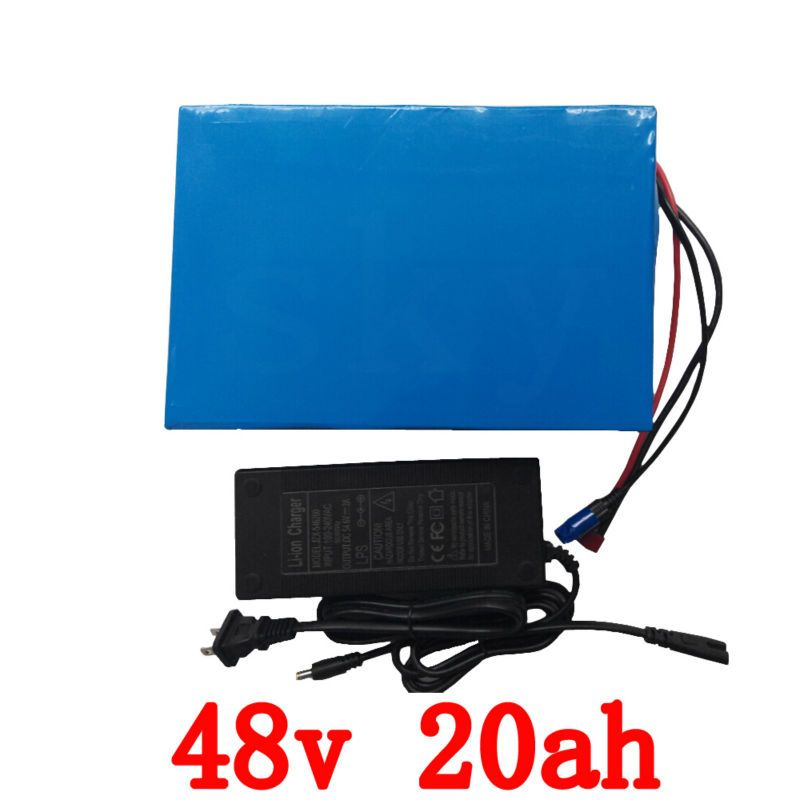 No taxes 48 V 1000W lithium ion battery 48v 20ah electric battery for e-bike 48v Electric Bike Battery with 30A BMS and charger