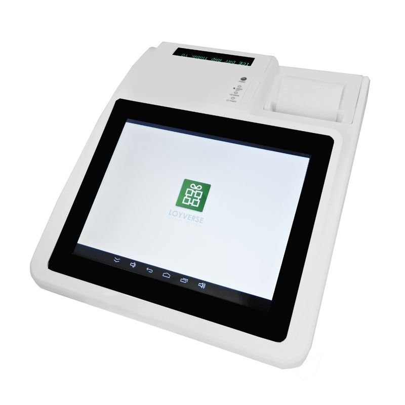 IZP004 Free Software Loyverse Pos Touch Screen Cash Register All in one POS for Restaurant/Drink/milk/tea Shop