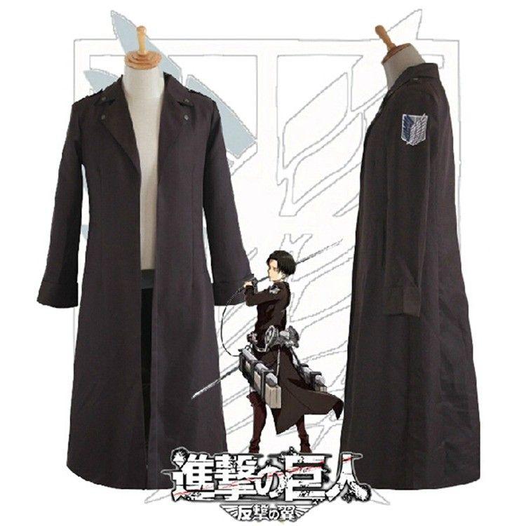 Anime Angriff auf Titan Cosplay Kostüm Shingeki keine Kyojin Kapitäne 2nd Kleidung Cosplay Uniform Recon Corps Rivaille Mantel