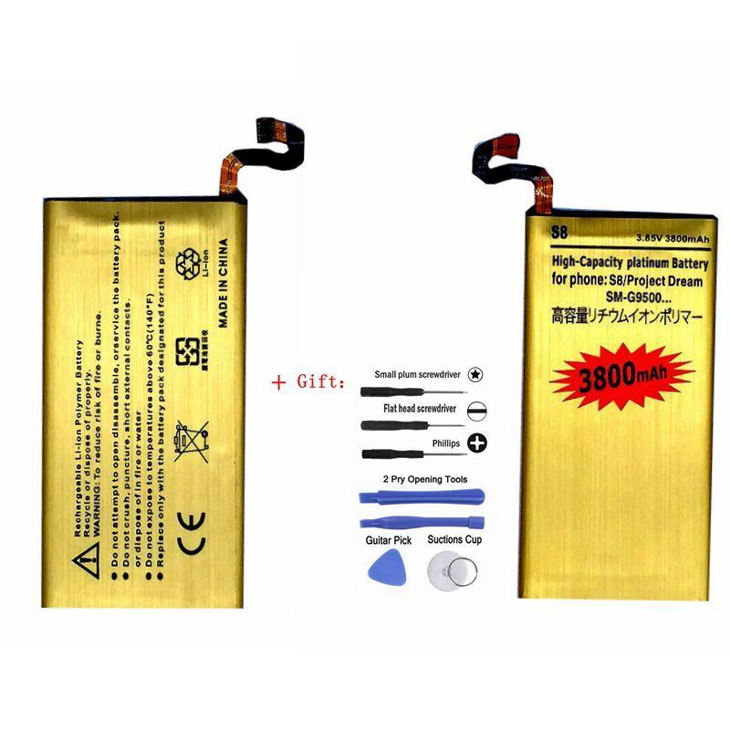 EB-BG950ABE Replacment Bateria for Samsung Galaxy S8 SM-G9508 G9500 G950U SM-G G950 G950F Battery Accumulator for Samsung Phone