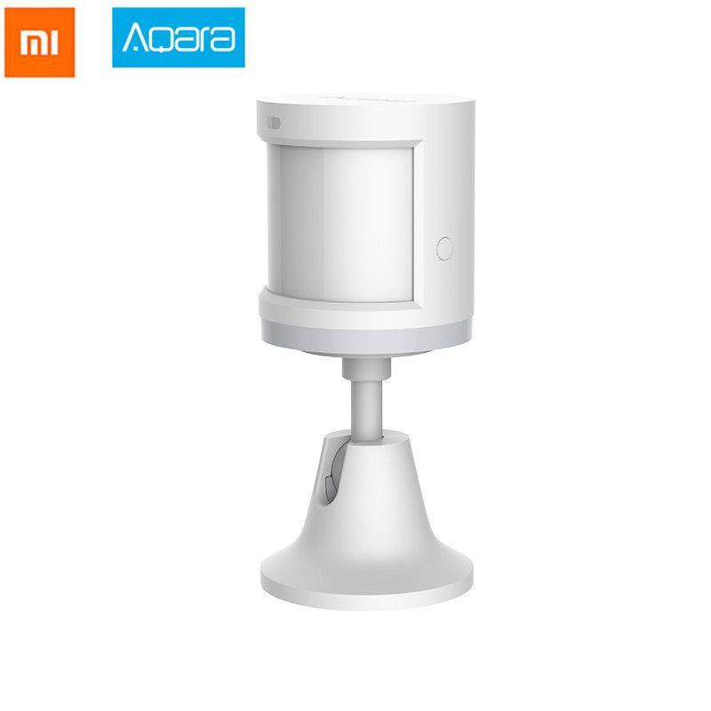 2018 Xiaomi Aqara capteur de corps humain intelligent mouvement du corps capteur de mouvement Zigbee connexion support Mihome App via Android et IOS