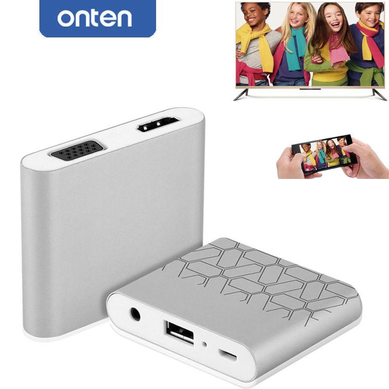Téléphone À HDMI TV Vidéo Câble Adaptateur Pour iPad pour iPhone X 6 6 S 7 8 Plus 5 5S Pour Samsung S8 S8 + S6 S7 Note 5/8 à TV Projecteur