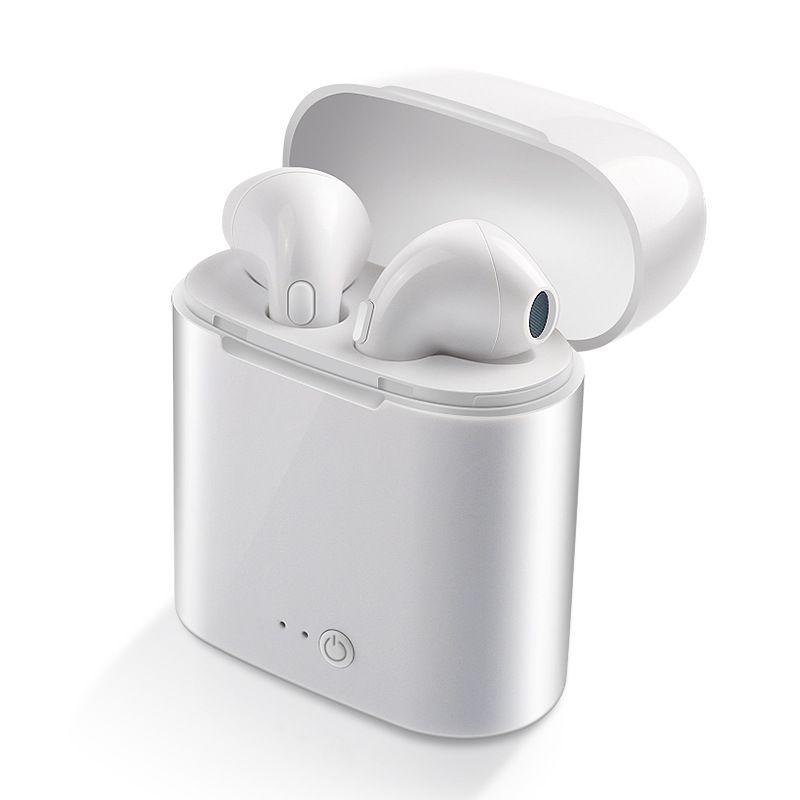 WPAIER I7S TWS Bluetooth Écouteurs Portable Sans Fil Casque Avec cas De Charge mini bluetooth casques Universel type I7STWS