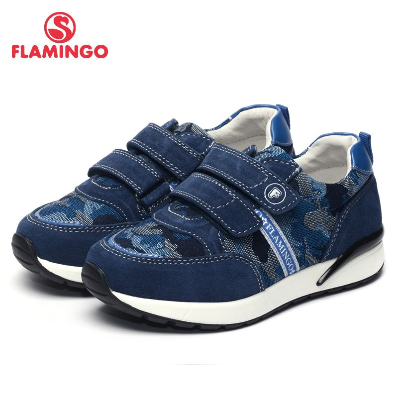 FLAMINGO 2017 New Arrival Spring & Autumn sneakers for boy Fashion High Quality children shoes 71P-XY-0066