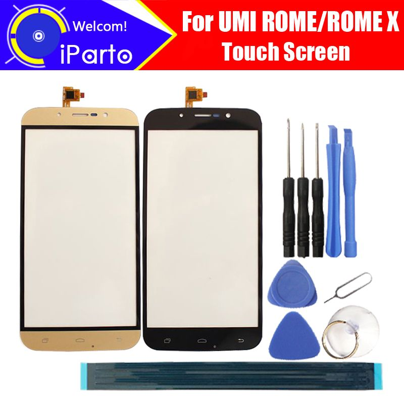 5,5 zoll UMI ROM/ROM X Touchscreen Glas 100% Hohe Qualität Touchscreen Digitizer für UMI ROM ROM X + Kostenlose Tools + Kleber