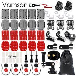 Vamson for Gopro Hero 5 Accessories Kit practical Adapter  Mount For Gopro Hero 5 4 3 for Xiaomi for SJCAM VS90