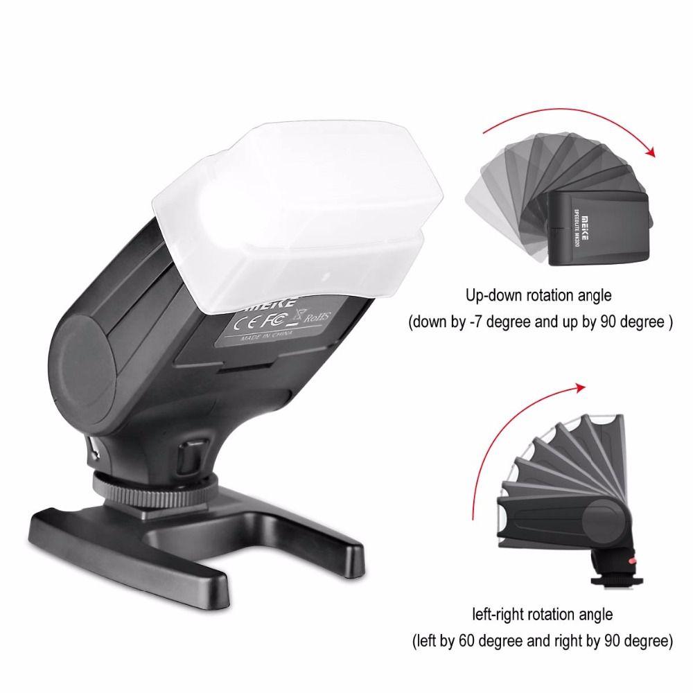 Meike MK320S TTL Speedlite Flash für Sony Spiegellose Kamera A7 A7R A7S A7II A77II A6000 NEX-6 A58 A99 RX1 RX1R RX10 RX100II + GESCHENK