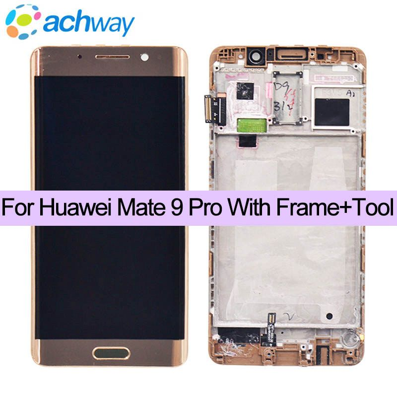 Huawei Mate 9 Pro LCD Display Touch Screen Digitizer Assembly With Frame Replacement For 5.5