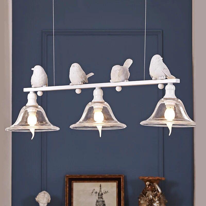 Vertrag abgeschlossenes droplight vögel droplight eine buffet restaurant neuen designer kreative persönlichkeit der modernen kunst, schmiedeeisen led-lampen
