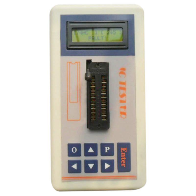 THGS Transistor Tester Detect IC Meter Maintenance Digital led Tester MOS PNP NPN