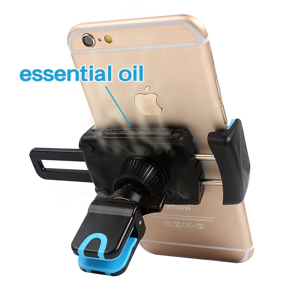 2-in-1 Car Air Freshener + Support Holder for Phone in the Car Perfumes 100 Original Auto Flavoring Flavors Smell Accessories