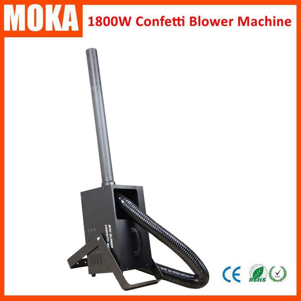 1800W Confetti Cannon Machine Confetti Paper Electric Confetti Launcher Machine For Wedding Events
