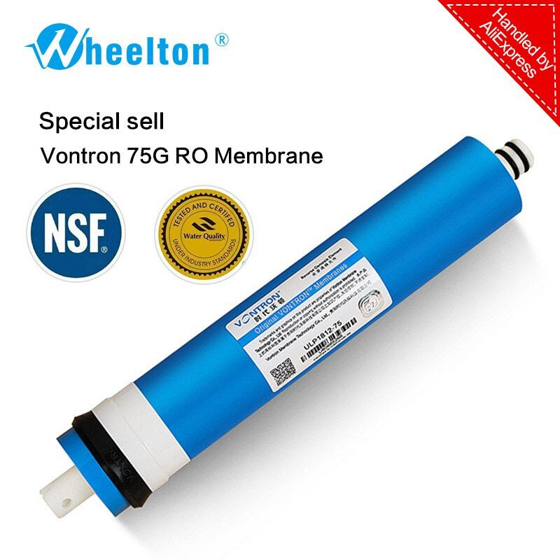 New Vontron 75 gpd RO Membrane for 5 stage water filter purifier treatment <font><b>reverse</b></font> osmosis system certified to NSF/ANSI freeship