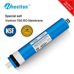 Nueva Vontron 75 gpd RO Membrana de 5 etapas del filtro de agua purificador de tratamiento de ósmosis inversa sistema de certificado NSF/ANSI freeship