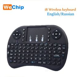 i8 Wireless Keyboard 2.4GHz English Or Russian letters Air Mouse Remote Control Touchpad For Android TV Box Notebook Tablet Pc