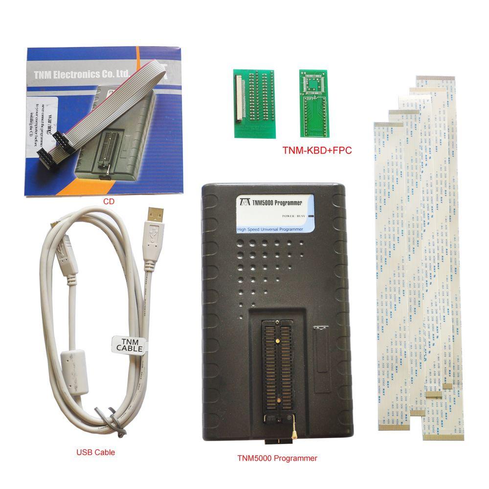 TNM5000 EEPROM Programmierer recorder + TNM-KBD buchse, unterstützung Laptop IO, für Notebook reparatur, unterstützung alle Notebook kbc ec controller