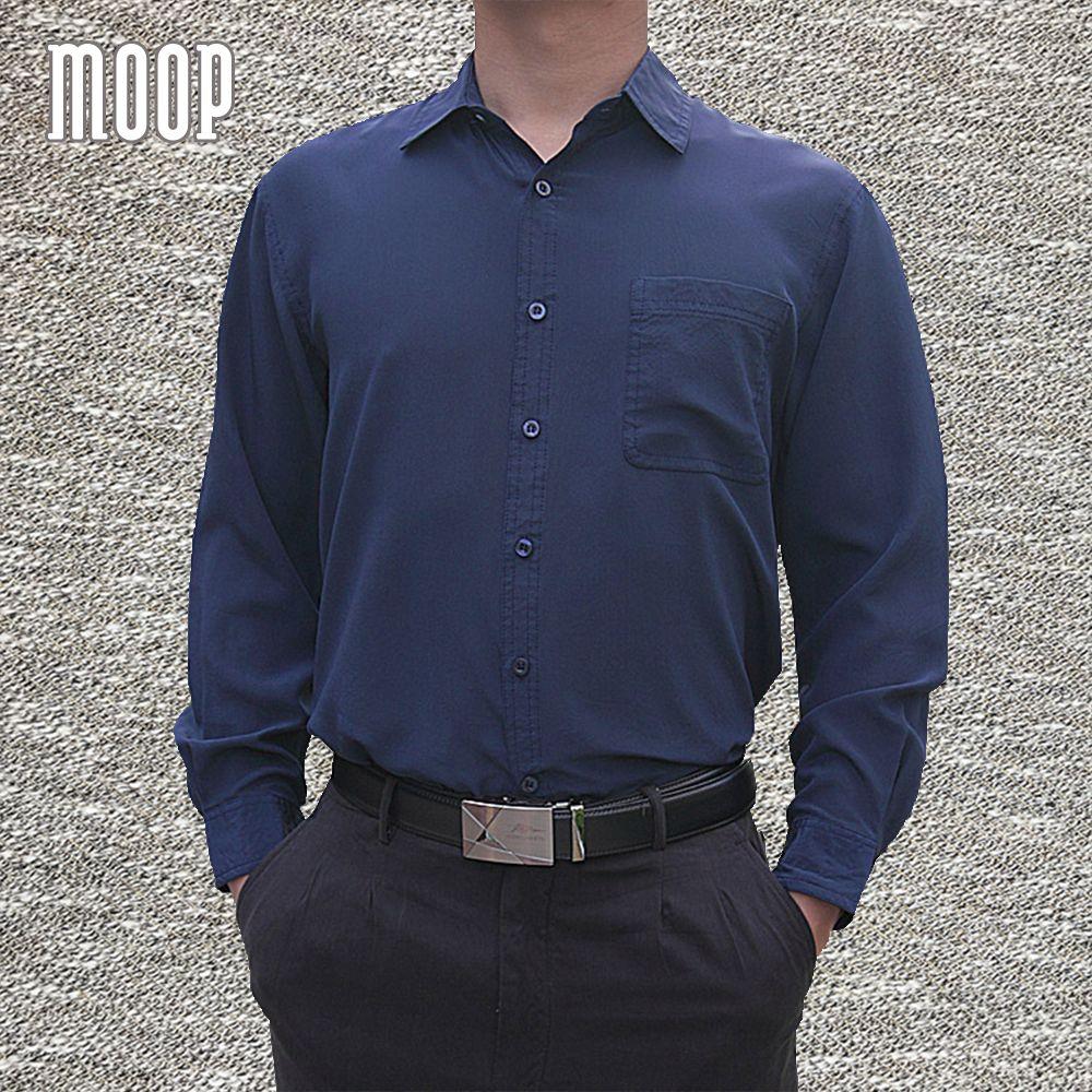 4 Farben solide männer naturseide shirts langarm business-hemd günstige chemise homm camiseta masculina vetement homme LT1508